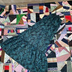 Velvet By Graham & Spencer Floral Silk Maxi Dress